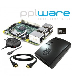 Kit Raspberry Pi 2 com distro PiPplware 16Gb - RASP2KITPPLW