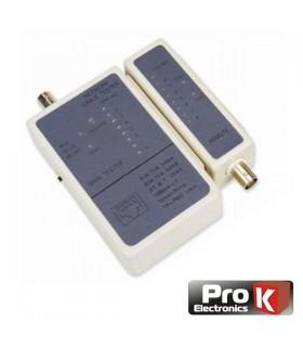 TC248A - Testador de Redes Bnc/Rj45 - TC248A