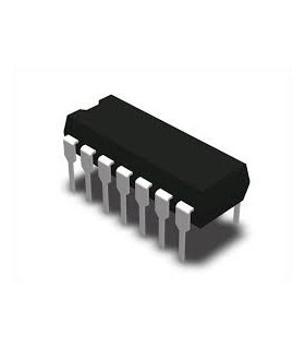 CD4024 - 7-stage Binary Counter, DIP14 - CD4024