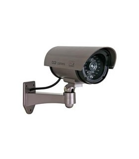 CAMD7N - Camera Falsa com LED IR e Vermelho - CAMD7N