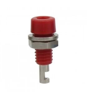 Alveolo painel 2mm 60VDC 10A - Vermelho - 69AP2R