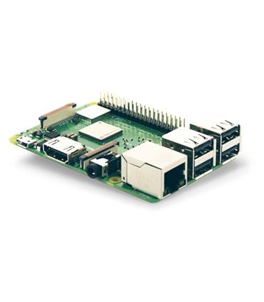 RASPBERRYB3+ Raspberry Pi Modelo B3+ 1.4GHz, 1Gb, PoE - RASPBERRYB3+