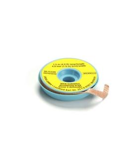 Malha de dessoldar NO-Clean ERSA, 1.5m, 4,9mm,  10peças - 0WICKNC4.9/10