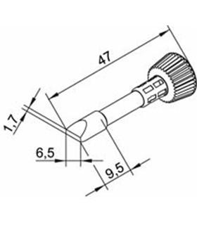 Ponta 6.5mm para ERSA I-Tool - 0102CDLF65/SB