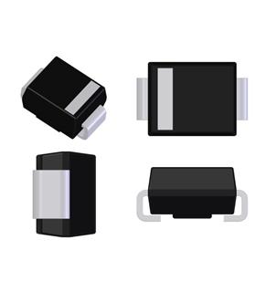 Diodo, Tvs, 12V, 600W, UNI, 5%, Smb - SMBJ12A
