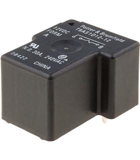 Rele 12V 1 INT 30A SPST-NO - T9AS1D12-12