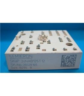 SKIIP24NAB125T12 SEMIKRON Module Transistor IGBT 52A/1200V - SKIIP24NAB125T12