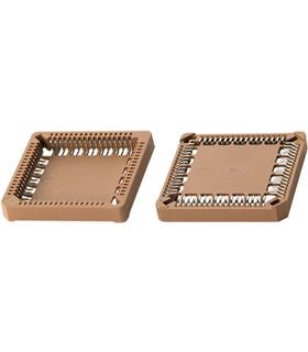 SOCKET, PLCC, 52 PIN, SMD - PLCC52
