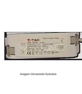 Led Driver 15W-300mA 265V para Mini-paineis - VT8037