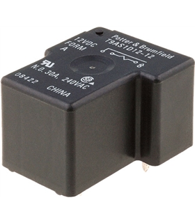 T9AS5D12-12 - PCB RELAY, CONTACTS SPDT - T9AS5D12-12