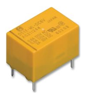DS1E-M-DC12V - RELAY, PCB, SPDT, 12VDC - DS1E-M-DC12V