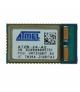 ATZB-24-A2R - ZIGBEE MODULE, 2.4GHZ, CHIP ANTENNA - ATZB24A2R