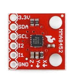 Triple Axis Accelerometer Breakout - MMA8452Q - MMA8452Q