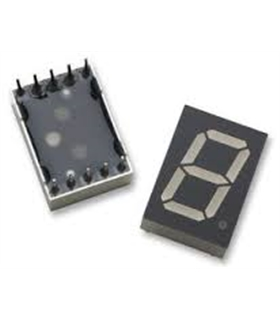 HDSP-C5L3 - DISPLAY LED, 13,1Â MM, LARANJA, CC - HDSP-C5L3