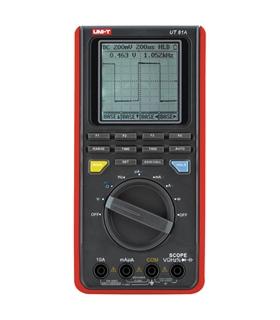 Multímetro e osciloscópio digital profissional com interfac - UT81A