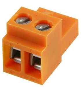 BL 5.08/2 - TERMINAL BLOCK, PLUGGABLE, 2P, 26-14AWG - 69BL508/2