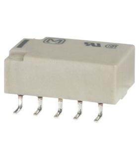 Relés de sinal fraco – circuito impresso 2A 12VDC DPDT NON-L - TQ2-12V