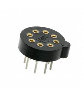 CI e soquetes de componentes TO-100 8PIN - 19218R