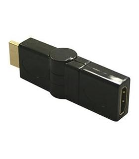 Ficha HDMI Adapt. M / F 180º Direcional - HDMIMF