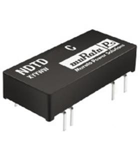 NDTD2415C - CONVERTER, DC/DC, DIL, 3W, +/-15V - NDTD2415C