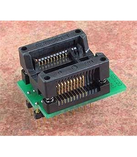 Adaptador DIL20/SOIC20 ZIF 300 mil - DIL20/SOIC20