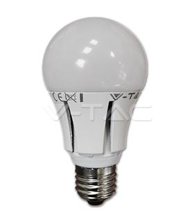 Lampada Led E27 10W 42-2835 Dimable Branco Quente - LL045/10D