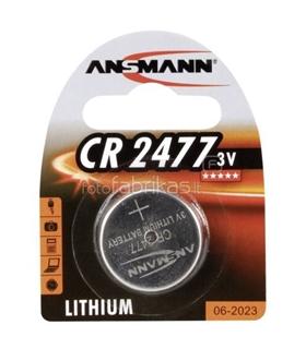 Pilha de Litio 3V Ansmann CR2477 - 1516-0010