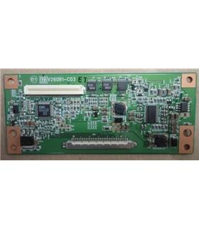 Placa T-CON M$35-D018462-L$KTR7165014RI - V260B1-C03