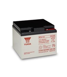 Bateria Gel Chumbo 12V 24Ah - 125x166x175mm -Yuasa - 1224Y
