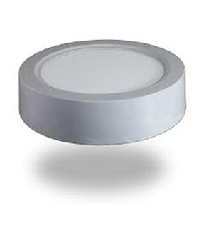 LED Painel Superfície 15W Branco Neutro Redondo - VT4810
