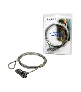 Notebook security lock with combination - NBS002