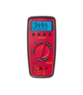 Multímetro autorrango TRMS retroiluminado, frecuencia, temp - 34XR-A
