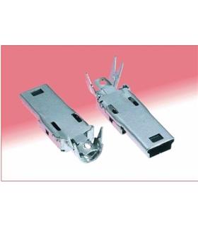 MINIUSBCA - Conectores USB MINI B CBLE PLUG STRT SOLDER 3.5 - MINIUSBCA