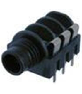 J6FSCIN - Ficha Jack 6.5mm Stereo Femea Painel - J6FSCIN