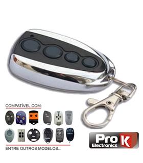 Comando de Garagem 24 Marcas Roling Code - VIPOPEN4/RC2