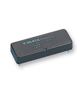55608703012 - BATTERY, PCB MOUNT, 3.6V, 3/V80H - 1693V680