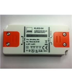 Alimentador Corrente 700mA -6W 4-8V SLIM - KL832-04