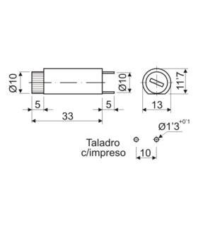 Suporte Fusivel C.i. Vertical 5X20 - 1921F520CIV