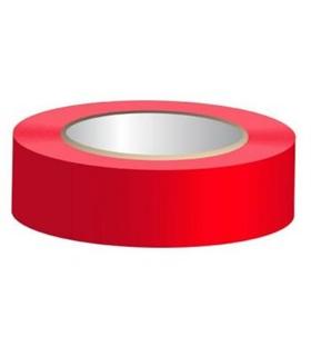 Rolo de Fita Isoladora Vermelha 0.15mmX19mmX25m - FIS25R