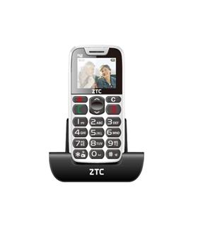 TELEMOVEL ZTC SP48 WHITE/GREY - ZTC-SP48WG