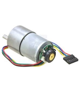 29:1 Metal Gearmotor 37Dx52L mm with 64 CPR Encoder - POL-1443