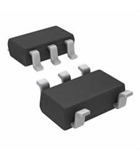 LP2980AIM5-5.0 - V REG LDO +5.0V, SMD, 2980, SOT235 - LP2980AIM5-5.0