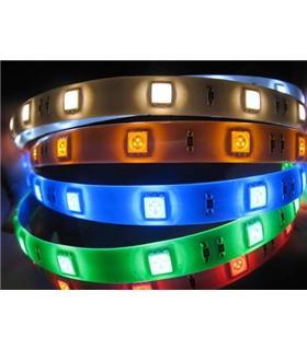 Fita De Leds SMD5050-60, 12V, IP65, RGB  14,4W/mt - LL276/S