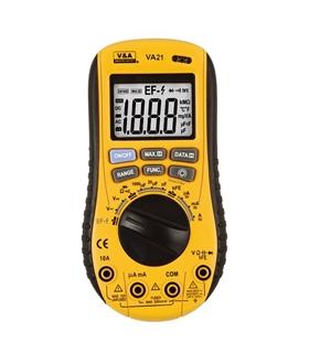 Multimetro 2 em 1 C/ Detector De Tensão Ac - VA21