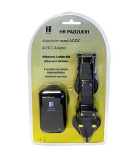 Alimentador 230Vdc -> 5Vdc 1000mAh ; 2 USB - AKA610