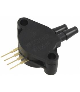 MPX2050DP - PRESSURE SENSOR, 0KPA-50KPA, SIP-4 - MPX2050DP