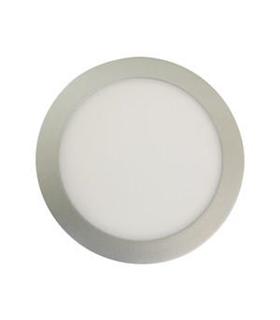 81.610/P/DIA - Plafon LED Embutir Redon 18W Silver 1600lm 65 - 81610PDIA