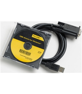 FLUKE 884X-USB -  Adaptador de cabo USB para RS232 - FLUKE884XUSB