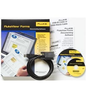 FLUKE FVF-SC4 - FlukeView Forms com cabo para 8845/8846 - FLUKEFVFSC4