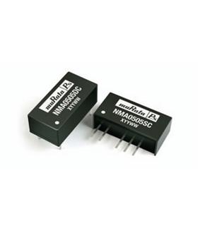 NMA0505SC - CONVERTER, DC/DC, SIL, 1W, +/-5V - NMA0505SC